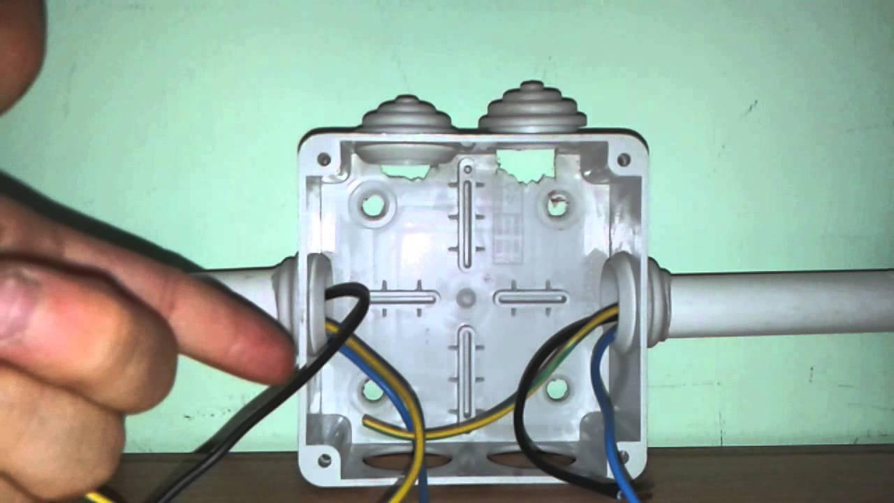 La cassetta di derivazione collegamenti e spiegazione for Scatole elettriche esterne