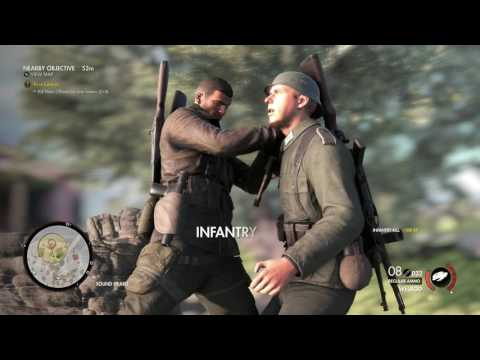 Sniper Elite 4 Kill General Schmidt by anny means - Mission 1 Campaign San Celini Island