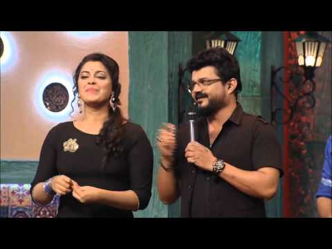 Nadirsha singing Premam Ennal Enthanu Penne on the sets of Dhe Chef show of Mazhavil Manorama