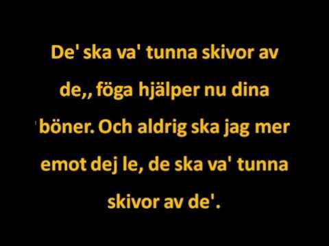 Tunna skivor Siv Malmqvist