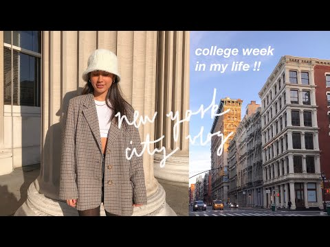 college week in my life // study abroad in nyc !!