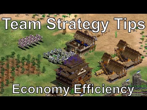 Aoe2: 3v3 Team Strategy & Economy Efficiency Tips