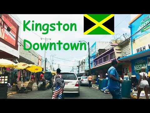 Kingston Downtown Jamaica 1 - waterfront, shopping streets, markets, residentials (Kingston Parish)