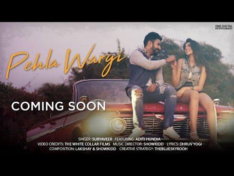 Pehla Wargi Teaser |Suryaveer |Showkidd |Dhruv |The White Collar Films |6th Feb 2019