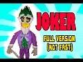 3D MODULAR ORIGAMI #119 JOKER  FULL VERSION (NOT FAST)