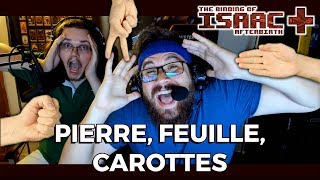 PIERRE, FEUILLE, CAROTTES feat. 123LUNATIC (Binding of Isaac Afterbirth+ True Coop)
