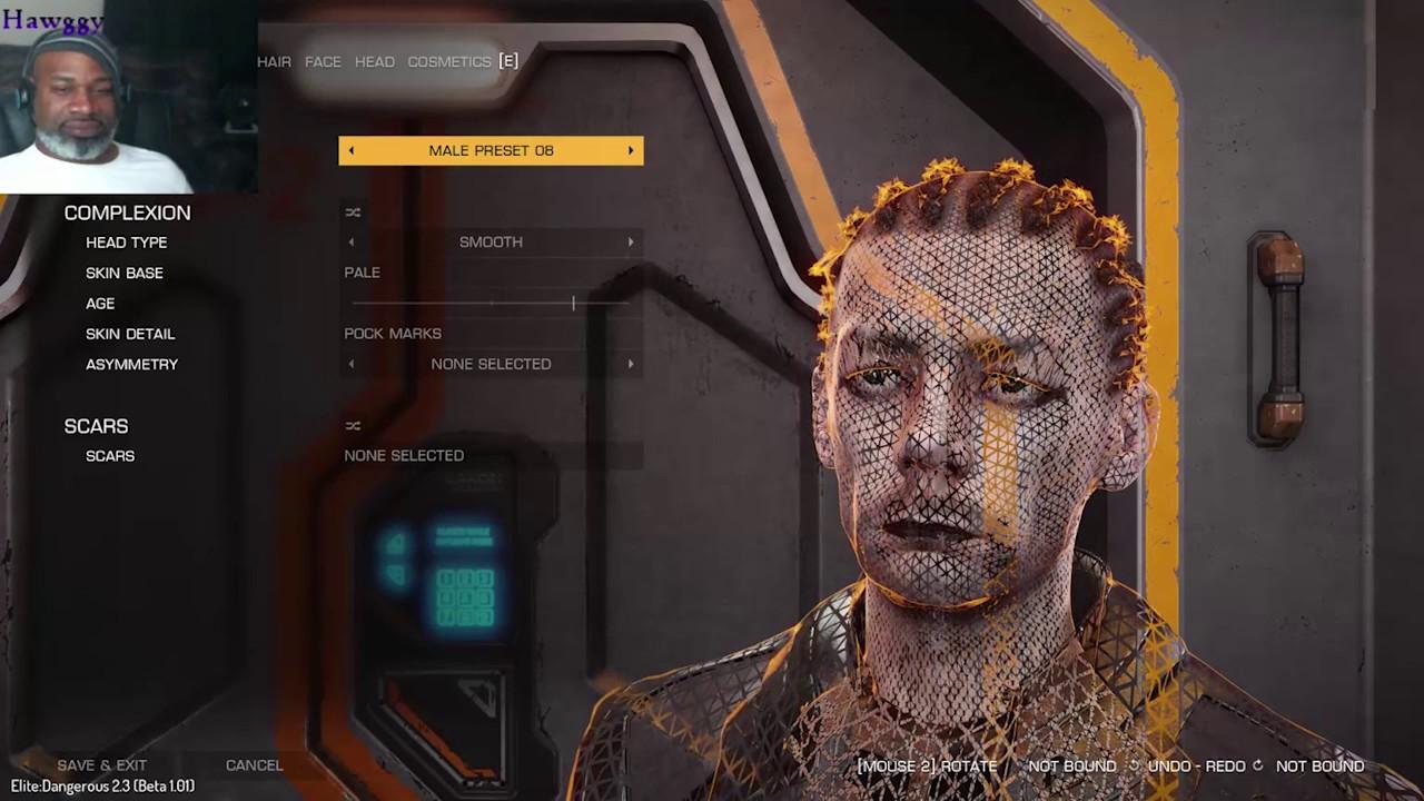 elite dangerous how to delete beta character