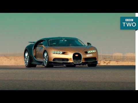 Chris Harris in the Bugatti Chiron: 0-236mph in 30 seconds - Top Gear 2017 - BBC Two