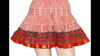 Indian ethinc skirts manufacturer and exporters, indian cotton skirts manufacturer.wmv Thumbnail