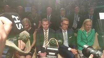 Petteri Orpo voittaa kokoomuksen puheenjohtajavaalin toisen kierroksen.