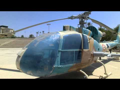 Captured Syrian Air Force Anti Tanks  SA-341L Gazelle Helicopter (Hot missiles) by Aérospatiale