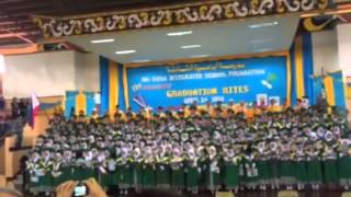 ISISF 12 Secondary Graduation Rites (Graduation Song)