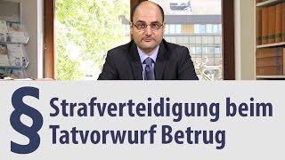Betrug | Rechtsanwalt | Heidelberg | Verteidigung