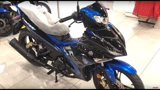 Yamaha Y15ZR (v2) walkaround (Blue & Black) - New 2019