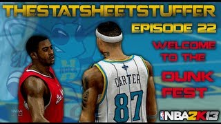NBA 2K13 My Career - Episode 22 - Welcome To The Dunk Fest | Triple-Double Please!