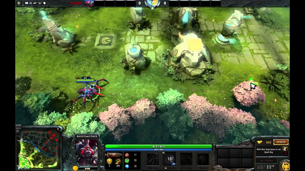 Dota 2 Broodmother Web Changes 679 Patch YouTube
