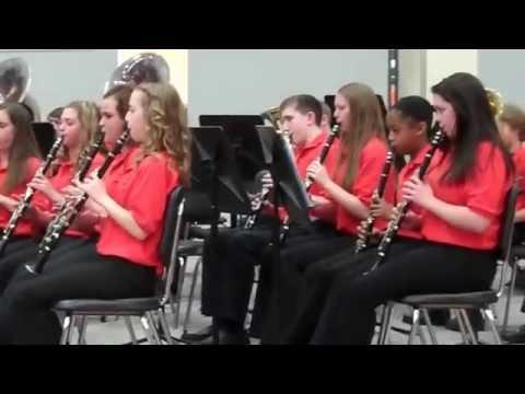 Winnebago Middle School 8th Grade Pops Concert
