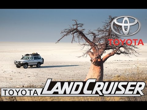 Toyota Land Cruiser Solo crossing of the the Kalahari. Part-2