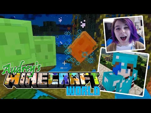 Audrey's MINECRAFT Survival World | To The Swamp!