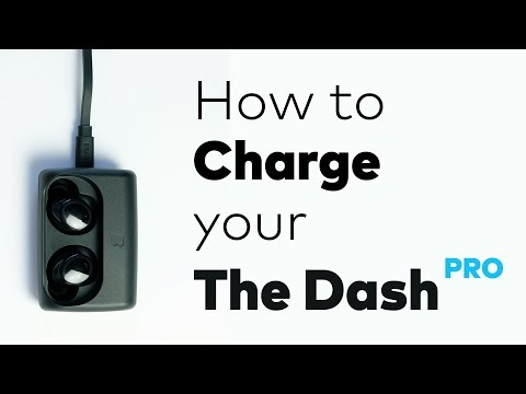How to: Charge the Dash Pro