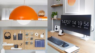 Work From Home Office Makeover & Desk Setup Tour 2021