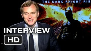 The Dark Knight Rises Interview - Christopher Nolan (2012) HD