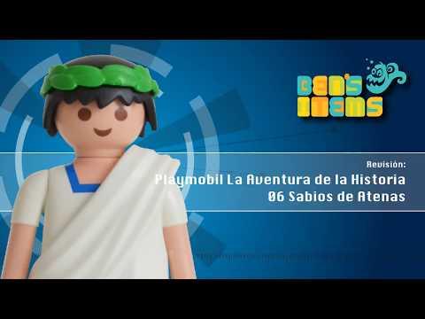 playmobil-la-aventura-de-la-historia-no.-6-sabios-de-atenas.-revisión-en-español