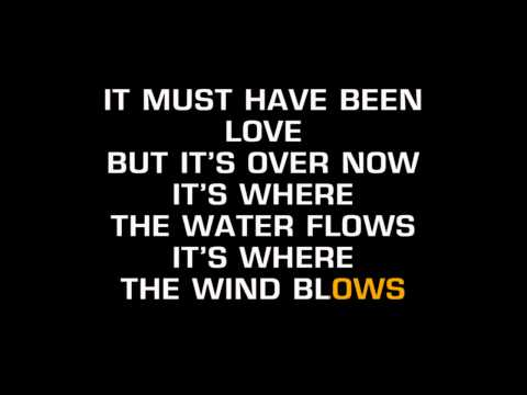 Roxette - It Must Have Been Love (Karaoke) Mp3