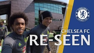 Exclusive behind the scenes training with willian in chelsea re-seen!
