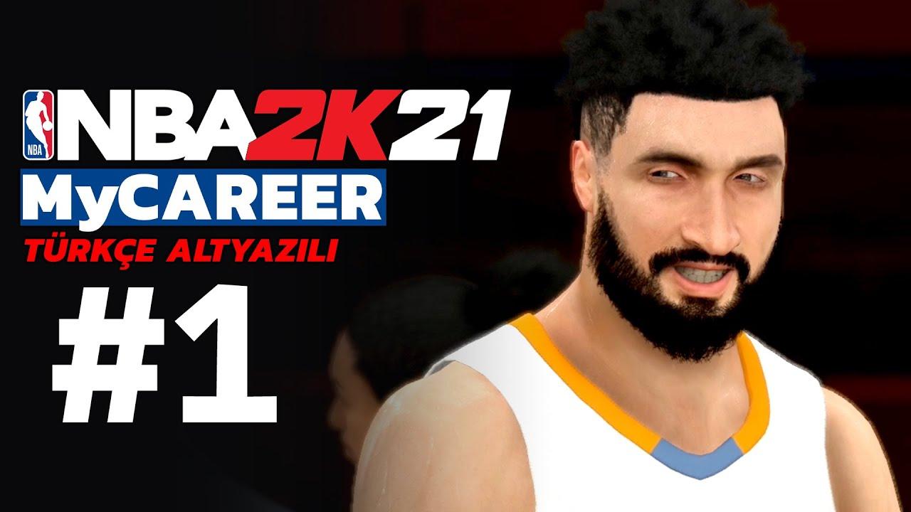 JUNIOR GRKN'IN KARİYERİ BAŞLIYOR!! // NBA 2K21 MyCAREER TÜRKÇE ALTYAZILI #1
