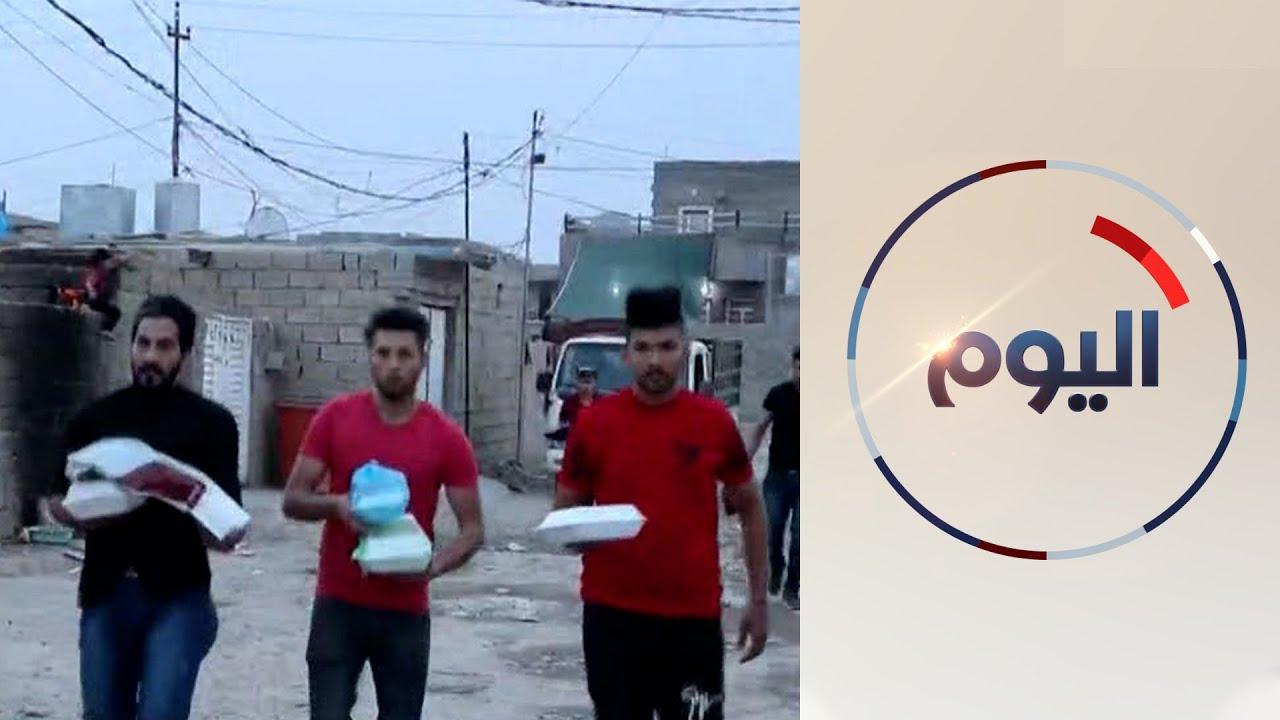 شباب يجمعون الطعام للفقراء في العراق وسط غياب أي مساعدة رسمية  - 19:58-2021 / 5 / 2