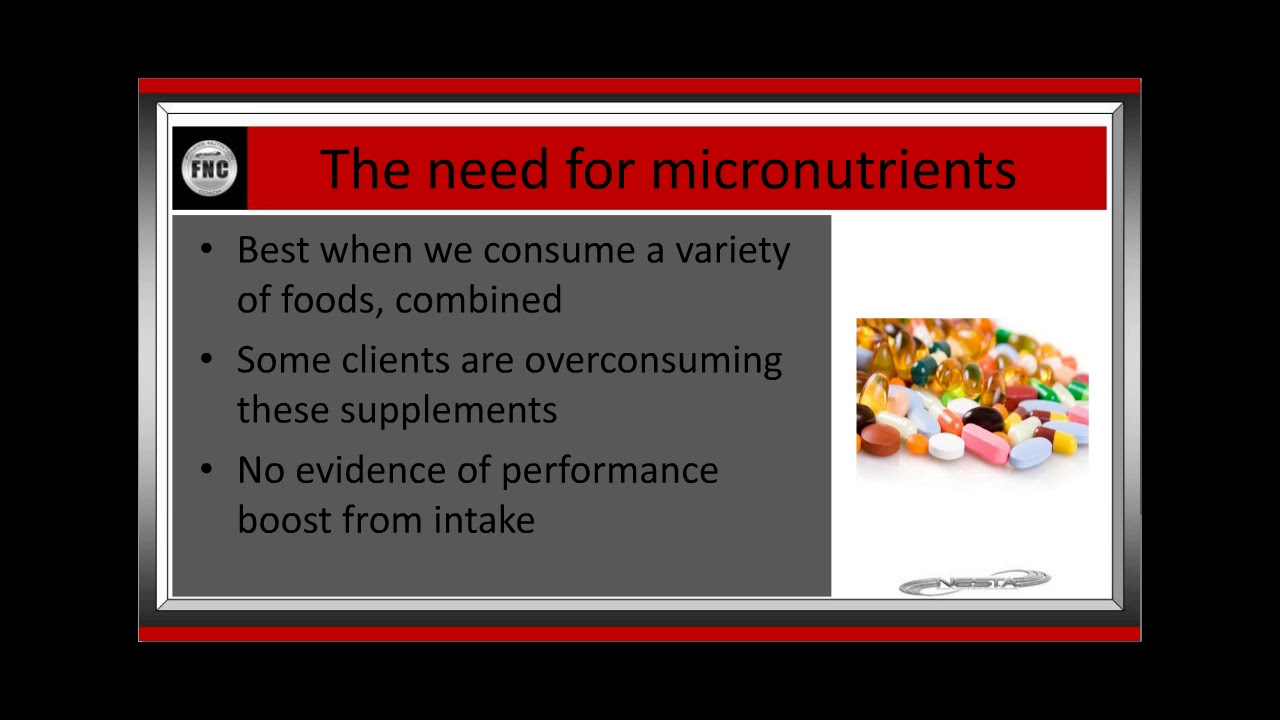 Vitamins Minerals And Phyonutrients Fitness Nutrition Coach
