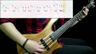 Kansas - Carry On Wayward Son (Bass Only) (Play Along Tabs In Video)