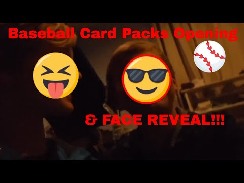 Baseball Pack Opening with FACE REVEAL!!!!