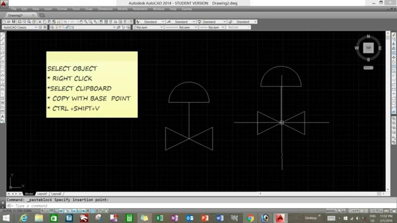 Autocad Blocks How To Create Autocad Blocks By Just Using Copy Paste Commands
