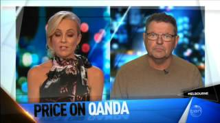 Steve Price faces criticism for his comments on QandA to Van Badham