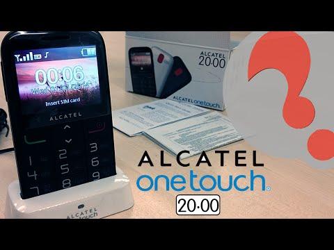 Alcatel ONETOUCH 2000 - Best Senior SOS Mobile Phone