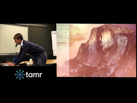 20151014 Meetup Data Management - Ted Gudmundsen - Demonstration of the Tamr catalog and software