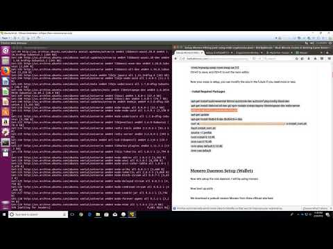 Create Your Own CryptoNight Pool Using Node-Cryptonode-Pool Guide [1 Of 2]