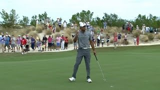 Tiger Woods takes dead aim on No. 2 at Hero World Challenge