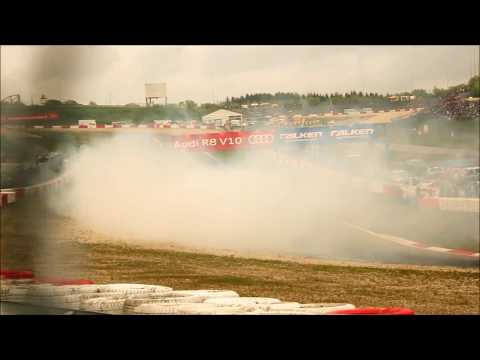 [FULL HD] Falken Drift Team and others @ 24 Hours Race Nürburgring 2012
