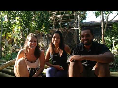 People talking about life @ DreamBig Eco Hostel Legazpi City, Bicol, Philippines