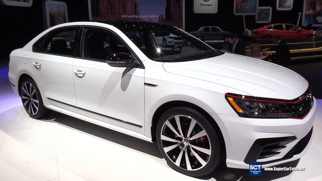2019 volkswagen passat gt exterior and interior walkaround debut at 2018 detroit auto show. Black Bedroom Furniture Sets. Home Design Ideas
