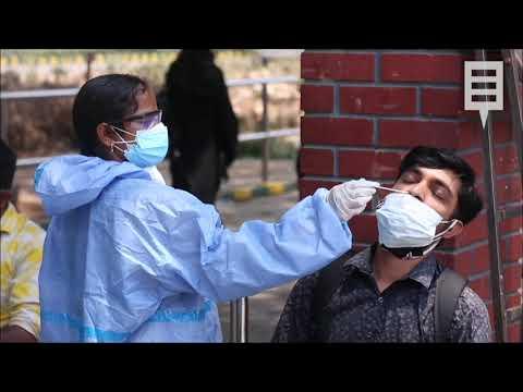 Alerta en la India: 17 millones de casos en medio de la peor crisis de covid del mundo