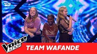 "Mathilde, Shanikwa, Frederikke (Team Waf) | ""Crying In The Club""| Battle | Voice Junior 2017"