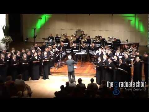 Shepherd's Pipe Carol - John Rutter - The Graduate Choir NZ & Dalewool Auckland Brass