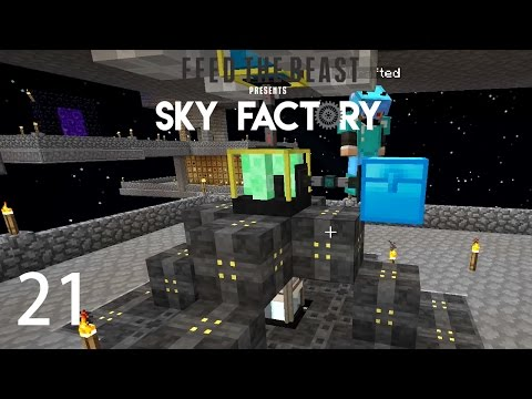 Sky Factory 3 w/ xB - VOID RESOURCE MINER [E21] (Minecraft M