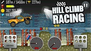 Hill Climb Racing 🔥 FIRE TRUCK on ROLLER COASTER 🔥 | GamePlay