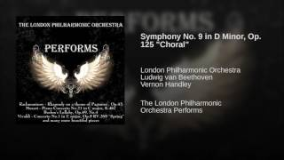 Symphony No 9 In D Minor Op 125 34 Choral 34