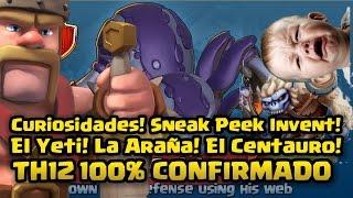 [BROMA] TH12 CONFIRMADO! Nuevas tropas! Curiosidades! | Clash of Clans